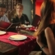 People Are Talking In The Indian Restaurant - VideoHive Item for Sale