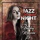 Jazz Sensual Night Flyer Template