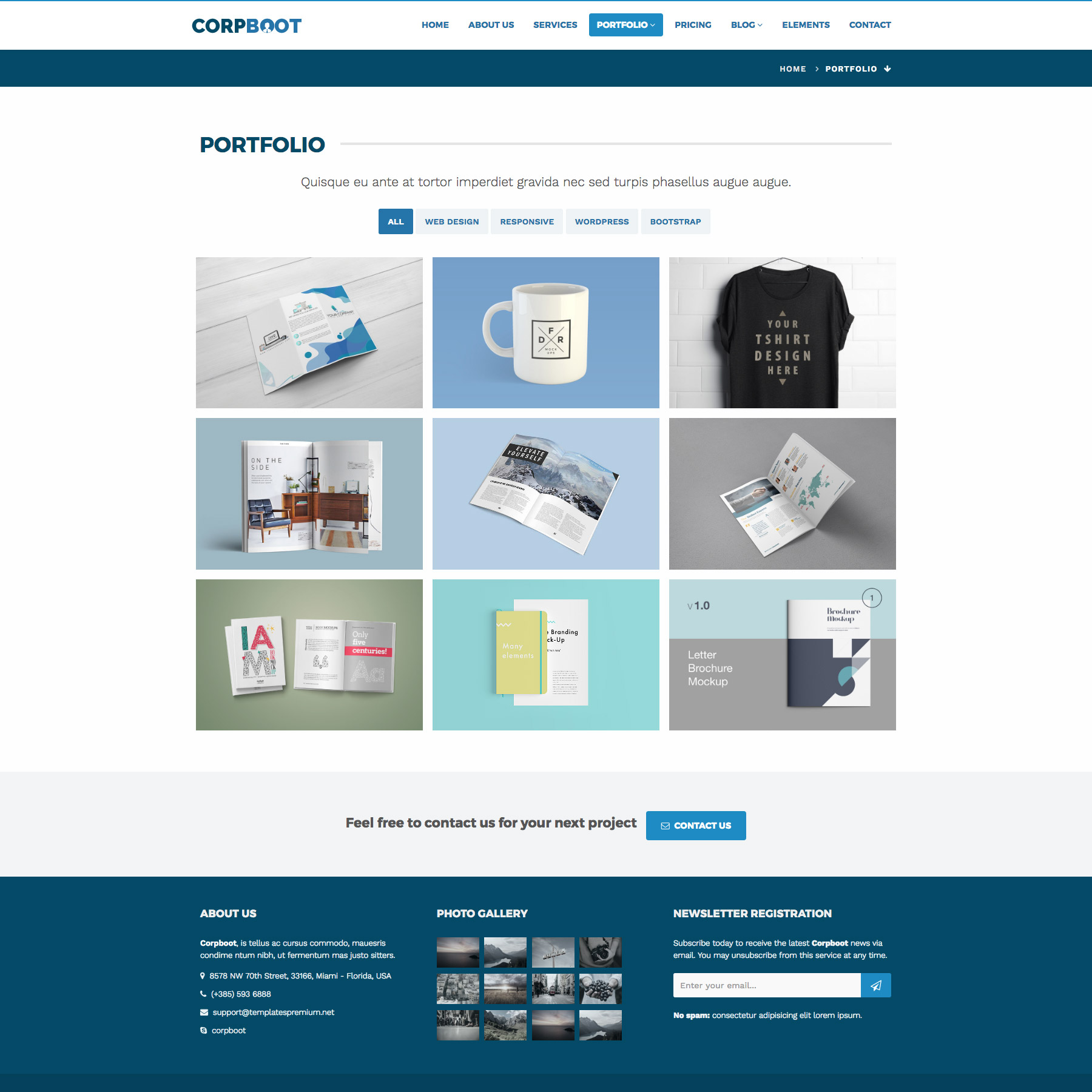 Corpboot - Corporate Website Template by rafamem | ThemeForest