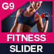 Health And Fitness Slider - GraphicRiver Item for Sale