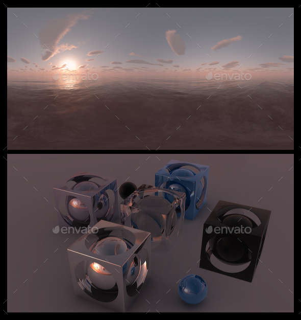 Red Dawn 2 - HDRI - 3DOcean Item for Sale