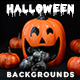 Halloween Backgrounds Pack Vol. 3 - GraphicRiver Item for Sale