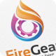 Fire Gear - Logo Template - GraphicRiver Item for Sale