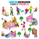 Isometric Family People Vector - GraphicRiver Item for Sale