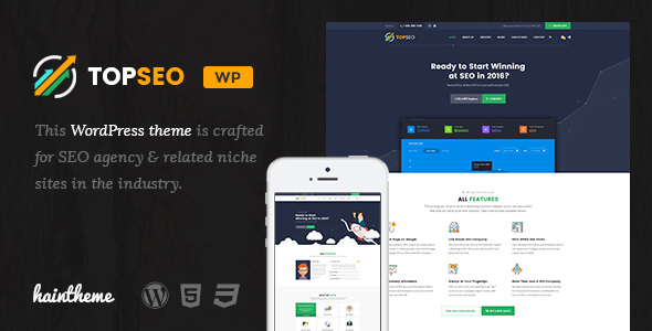 TopSEO – SEO, Digital Marketing WordPress Theme