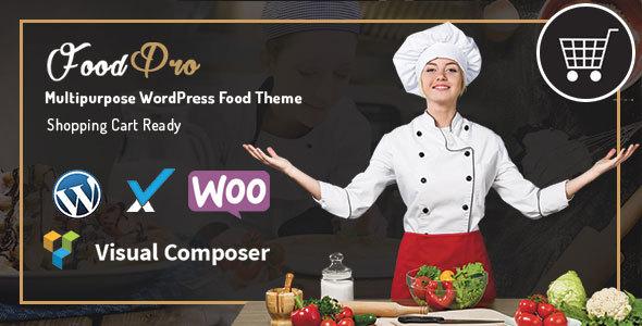 FoodPro Multipurpose eCommerce WordPress Theme
