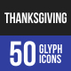 Thanksgiving Glyph Icons