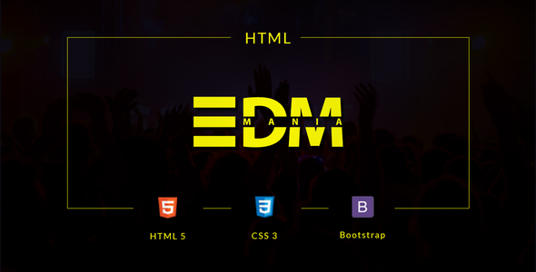 EDMania – EDM & Music Template