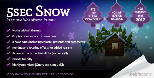 5sec Snow - CodeCanyon Item for Sale