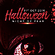 Halloween Night of Fear - GraphicRiver Item for Sale