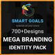 Mega Smart Branding Identity Pack