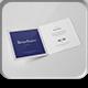 Bi-Fold Square Brochure Mock-up - GraphicRiver Item for Sale