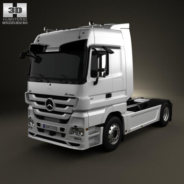 Mercedes-Benz Actros Tractor 2-axis 2011