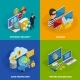 Data Protection Concept Icons Set
