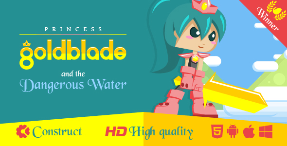 Princess Goldblade and the Dangerous Waters - CodeCanyon Item for Sale