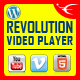 Revolution Video Player With Bottom Playlist WordPress Plugin - YouTube/Vimeo/Self-Hosted Support - CodeCanyon Item for Sale