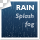 Rain with Splash and Fog - VideoHive Item for Sale
