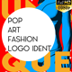 Pop Art Fashion Logo Ident - VideoHive Item for Sale