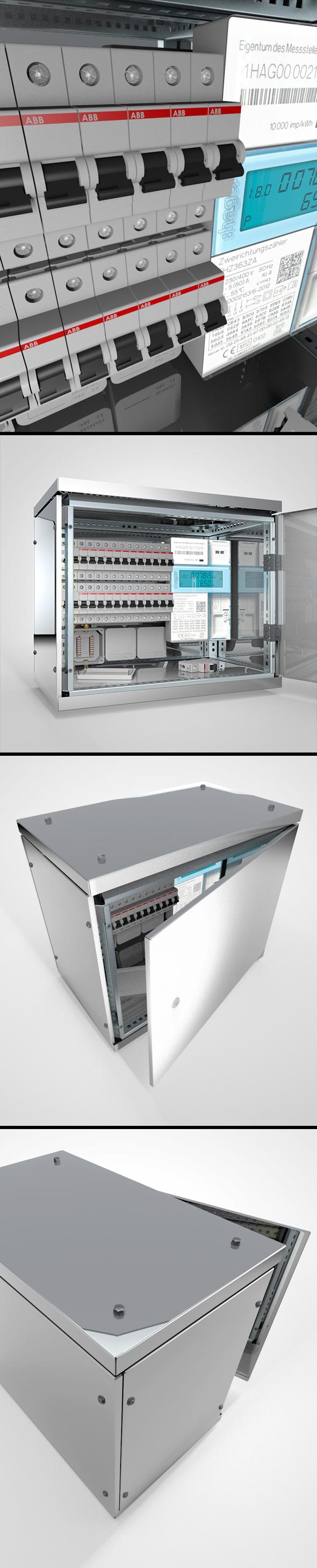 Sicherungskasten / Fusebox - 3DOcean Item for Sale