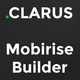 Clarus - Mobirise Responsive Business HTML Site Builder - ThemeForest Item for Sale