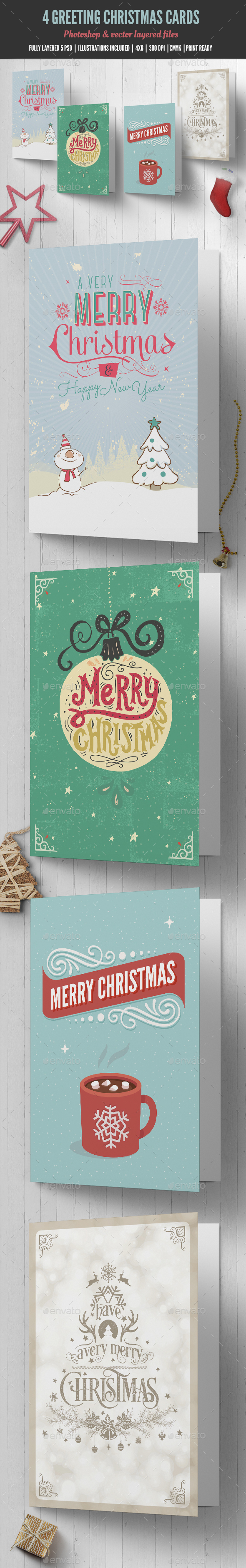 Christmas Card By Madridnyc Graphicriver