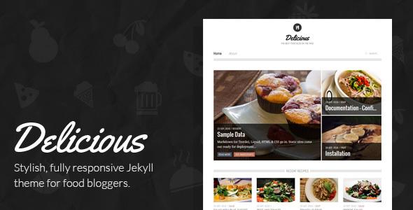 Delicious - A Yummy Jekyll Theme