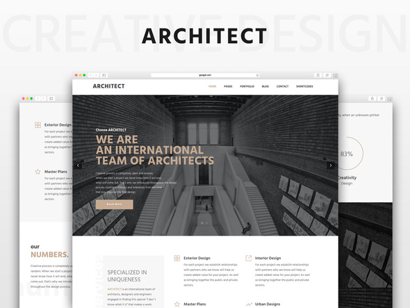 Architect Corporate HTML5 Theme