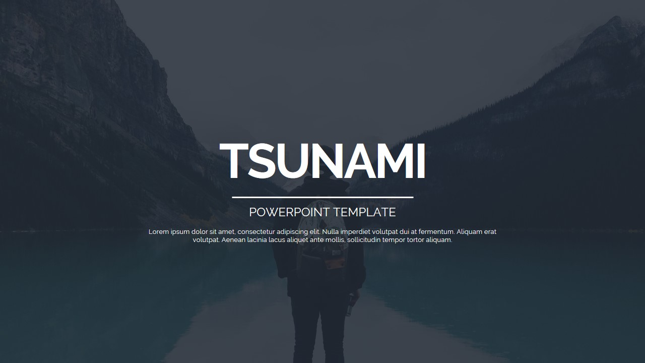 tsunami powerpoint presentationjhon_d_atom | graphicriver, Presentation templates