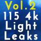 115 Real 4k Light Leaks Overlay Pack Vol2 - VideoHive Item for Sale