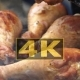 Chef Is Grilling Turkey Legs On The Grill. Appetizing, . 2 - VideoHive Item for Sale