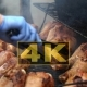 Chef Is Grilling Turkey Legs On The Grill. Appetizing, 6 - VideoHive Item for Sale