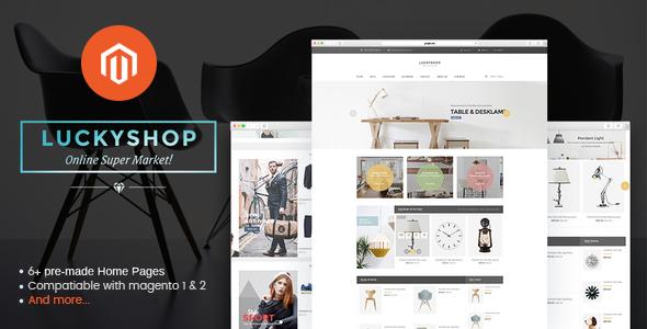 Luckyshop – Multi-Purpose Premium Responsive Magento2 Theme