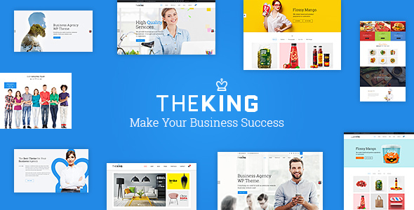 TheKing – Creative Respnsive WordPress Theme