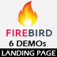 FIRE BIRD - Multipurpose Responsive HTML Landing Page Nulled