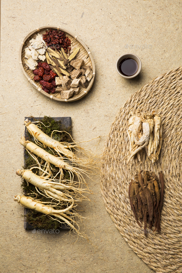 Korean Ginseng - Stock Photo - Images