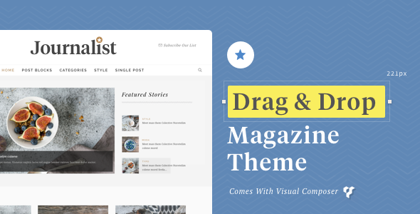 Journalist – WordPress Blog & Magazine Theme