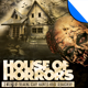 House of Horrors Halloween Flyer Template