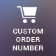 Custom Order/Invoice Number