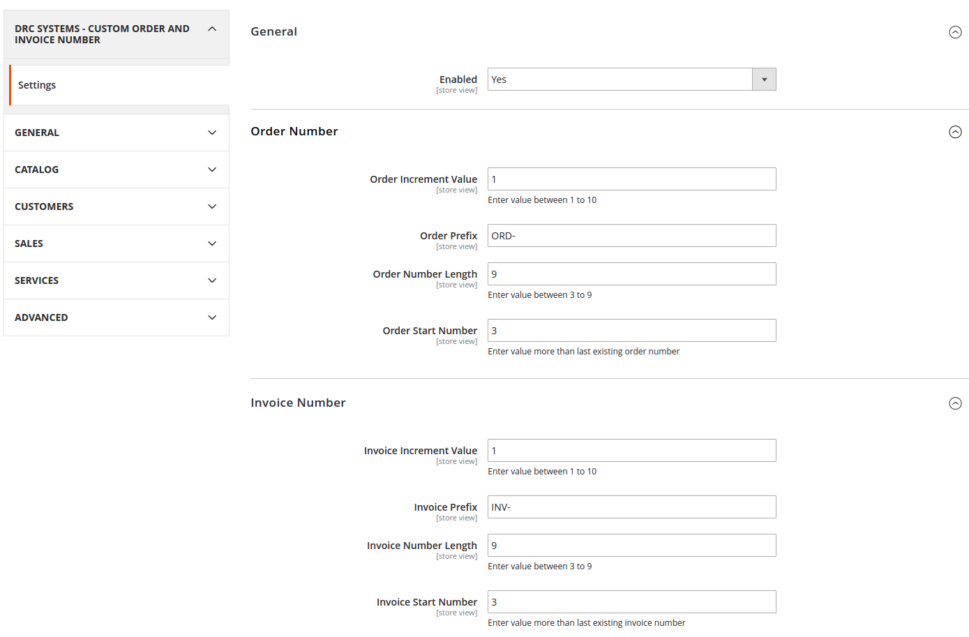 Custom OrderInvoice Number By Drcsystemsdesign CodeCanyon - Order custom invoices