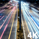Fast Highway Traffic Night - VideoHive Item for Sale