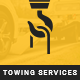 Towy - Emergency Auto Towing and Roadside Assistance Service PSD Template Nulled