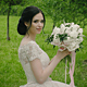 Young Bride In The Green Park - VideoHive Item for Sale