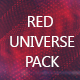 Red Universe Backgrounds Pack - VideoHive Item for Sale