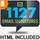 1127 Email Signature - GraphicRiver Item for Sale