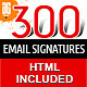 Email Signatures - GraphicRiver Item for Sale