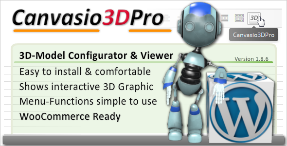 3D-Model Configurator & Viewer | Canvasio3DPro - CodeCanyon Item for Sale
