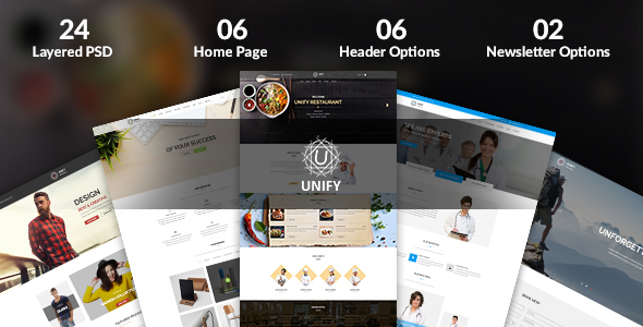Unify - Multipurpose PSD Template - Business Corporate