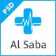 Al-Saba Health and Medical PSD Template - ThemeForest Item for Sale