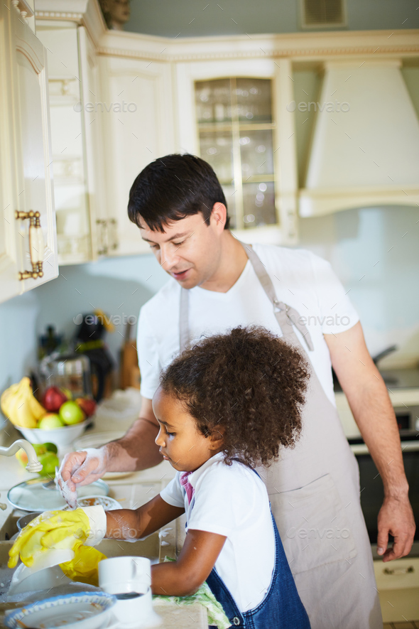 Work in the kitchen - Stock Photo - Images