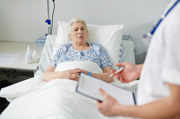 Recovering patient - Stock Photo - Images